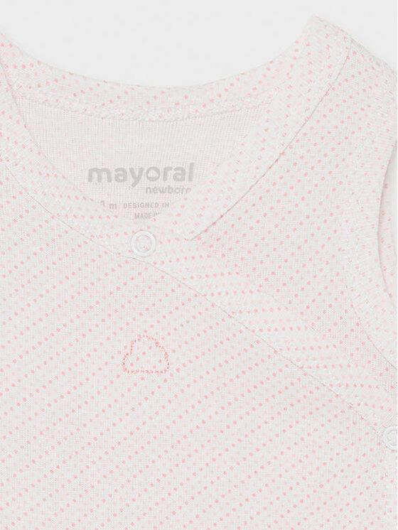 Mayoral Mayoral Body dziecięce 1790 Różowy Regular Fit
