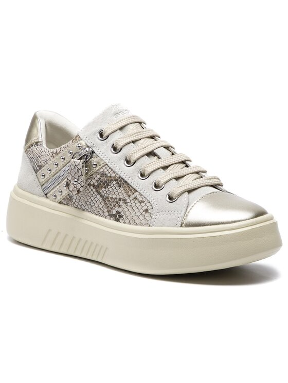 Geox Geox Sneakersy D Nhenbus F D828DF Beżowy