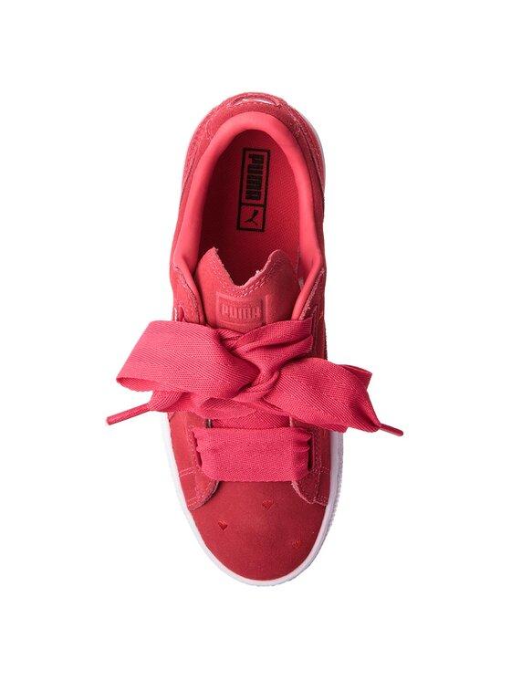 Puma Puma Sportcipő Suede Heart Valentine Jr 365135 01 Rózsaszín