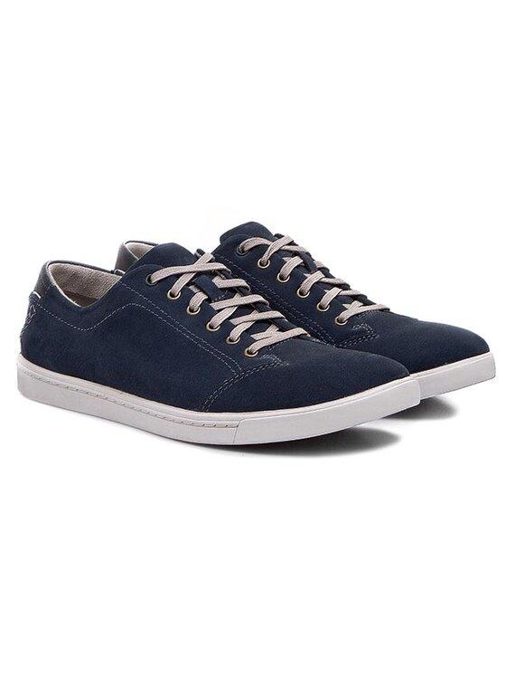 Clarks Clarks Κλειστά παπούτσια Newood Street 261082077 Σκούρο μπλε