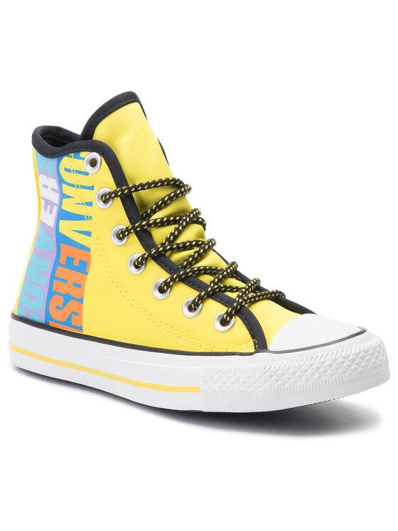 Converse Trampki Ctas Hi 164092C Żółty