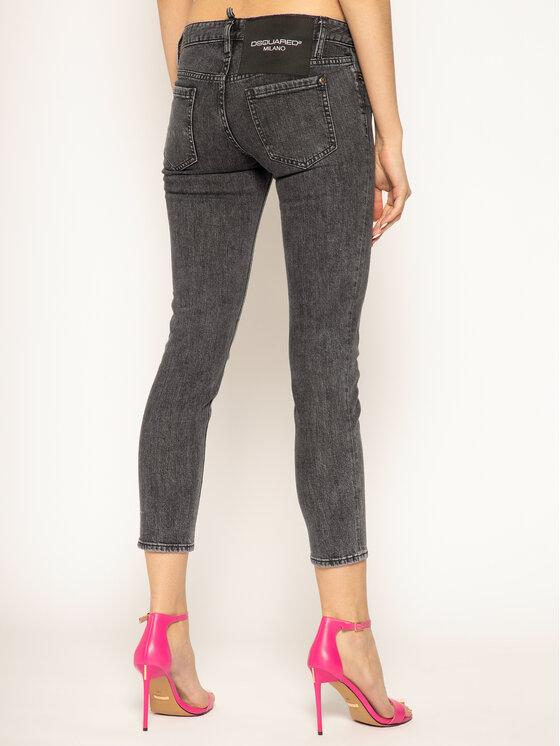 Dsquared2 Dsquared2 Дънки тип Slim Fit Jennifer Cropped S75LB0266 Черен Slim Fit