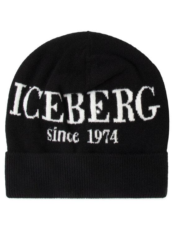 Iceberg Iceberg Σκούφος 2c Berretto Maglia 19II2P130427003-900 Μαύρο