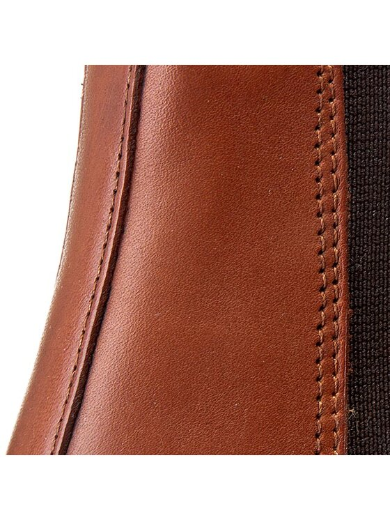 Dr. Martens Dr. Martens Kotníková obuv s elastickým prvkem Wilde 16775220 Hnědá