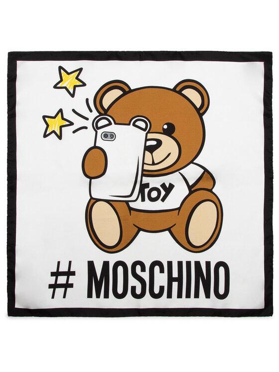 MOSCHINO MOSCHINO Chusta 03627 M1972 Biały