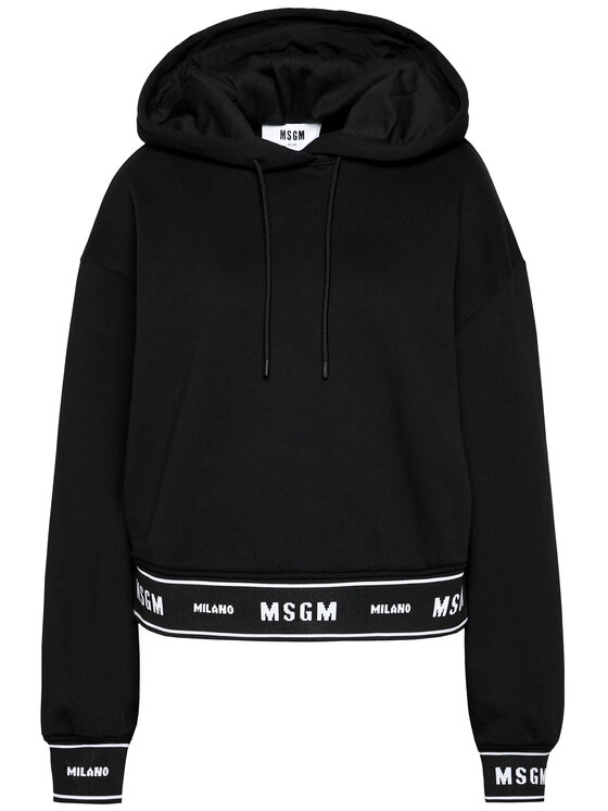 MSGM MSGM Mikina 2941MDM183 207799 Černá Regular Fit