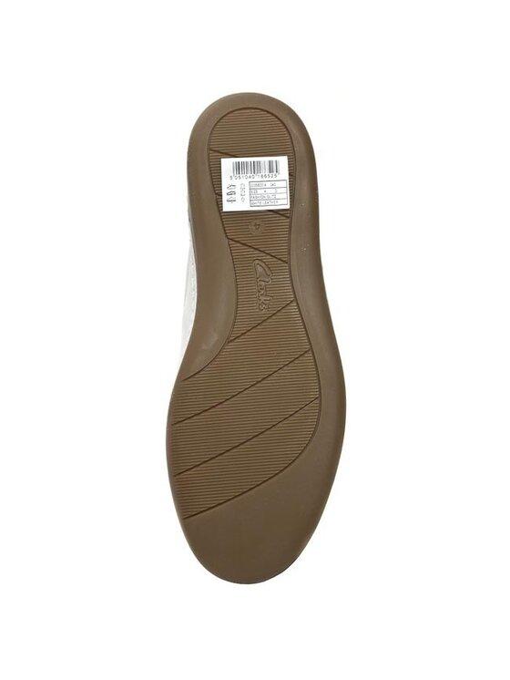 Clarks Clarks Batai Fashion Glitz 203580314 Balta