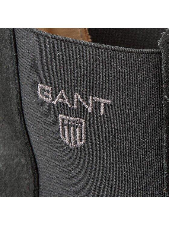 Gant Gant Боти тип челси Oscar 11653894 Черен