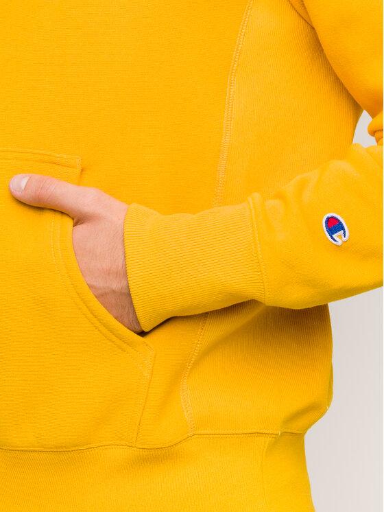 Champion Champion Μπλούζα 212574 Κίτρινο Regular Fit