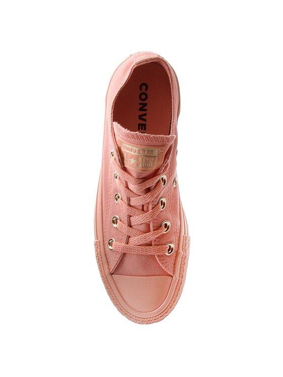 Converse Converse Sneakers aus Stoff Ctas Ox 560683C Orange