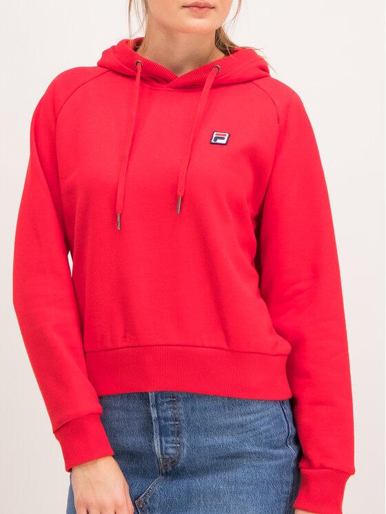 Fila Fila Bluza Floresha 687272 Czerwony Regular Fit