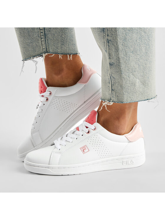 Fila Fila Sneakersy Crosscourt 2 Nt Kids 1011115.85K Biały
