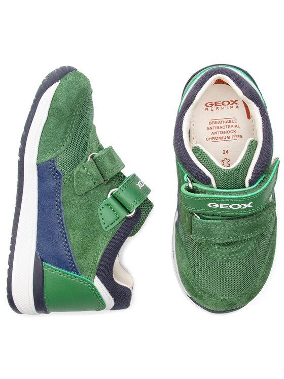 Geox Geox Αθλητικά B Rishon B. A B840RA 02214 C3262 M Πράσινο