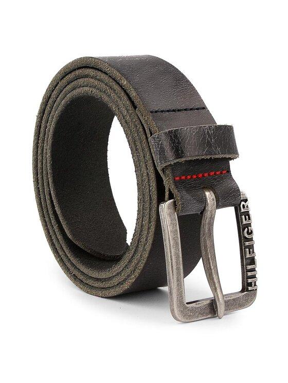 Tommy Hilfiger Tommy Hilfiger Cintura da uomo DENIM Thd Classic Belt 3.5 AMAM02124 90 Nero