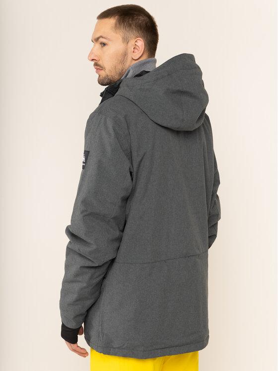 Quiksilver Quiksilver Snowboard kabát Mission EQYTJ03221 Szürke Modern Fit