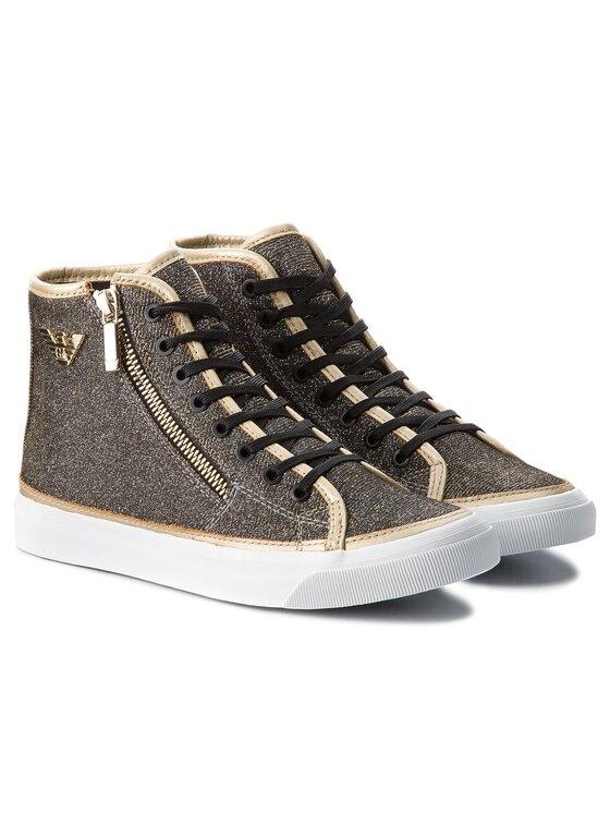 Emporio Armani Emporio Armani Laisvalaikio batai X3Z017 XL487 K002 Auksinė