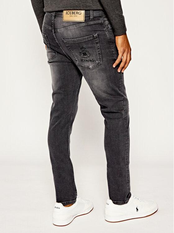 Iceberg Iceberg Jeans 19II1P022016000 Grigio Slim Fit