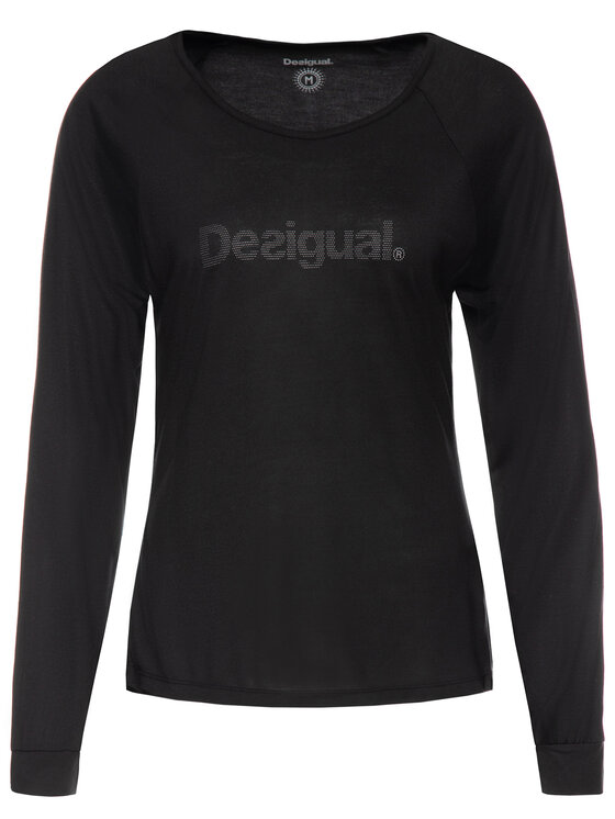 Desigual Desigual Blusa 19WOTK27 Nero Regular Fit