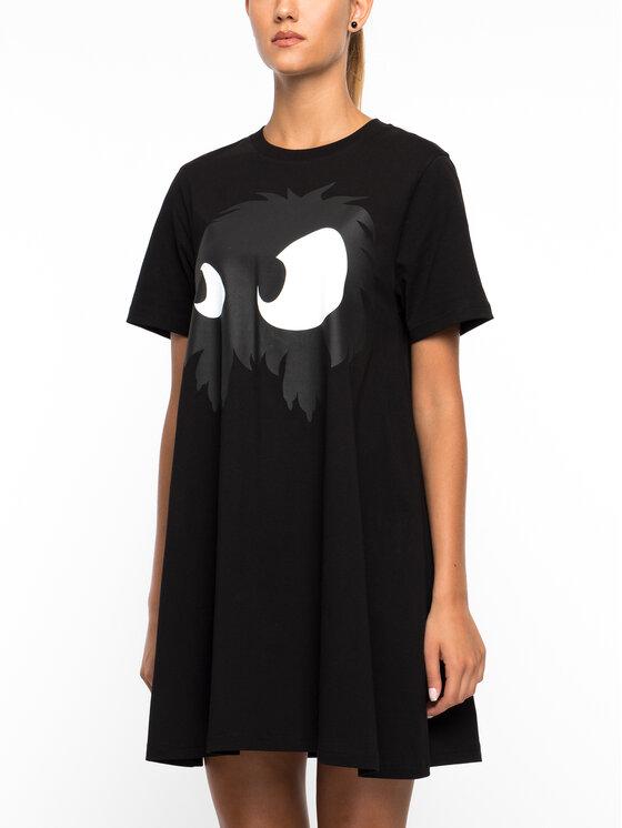 MCQ Alexander McQueen MCQ Alexander McQueen Φόρεμα καθημερινό 401641 RNT58 1010 Μαύρο Regular Fit