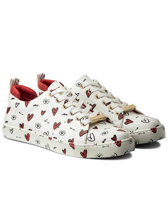Aldo Aldo Sneakersy Merane N 55055121 Bílá