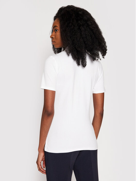 Tommy Jeans Tommy Jeans Polo Original DW0DW04434 Λευκό Regular Fit