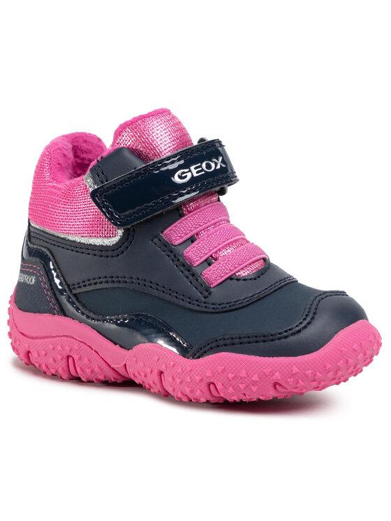 Geox Auliniai batai B Baltic G.Wpf A B04H1A 0BCM2 C4268 M Tamsiai mėlyna