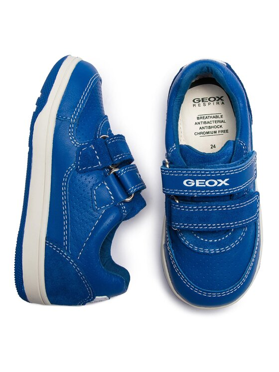Geox Geox Polobotky B N.Flick B. B B821LB 08522 C4011 S Modrá