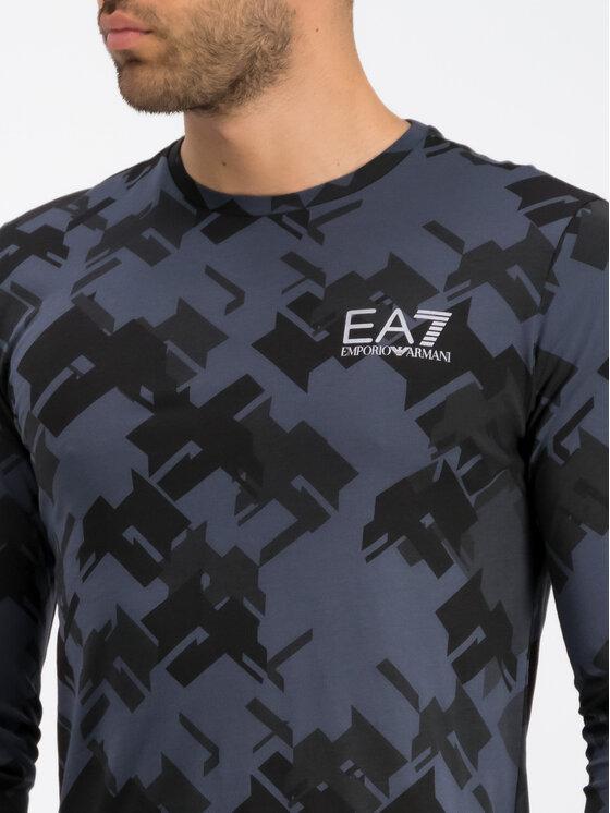 EA7 Emporio Armani EA7 Emporio Armani Hosszú ujjú 6GPT71 PJV5Z 2541 Sötétkék Regular Fit