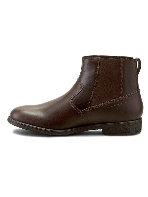 Geox Geox Členková obuv s elastickým prvkom U Jaylon Abx A U641TA 000CL C6009 Hnedá