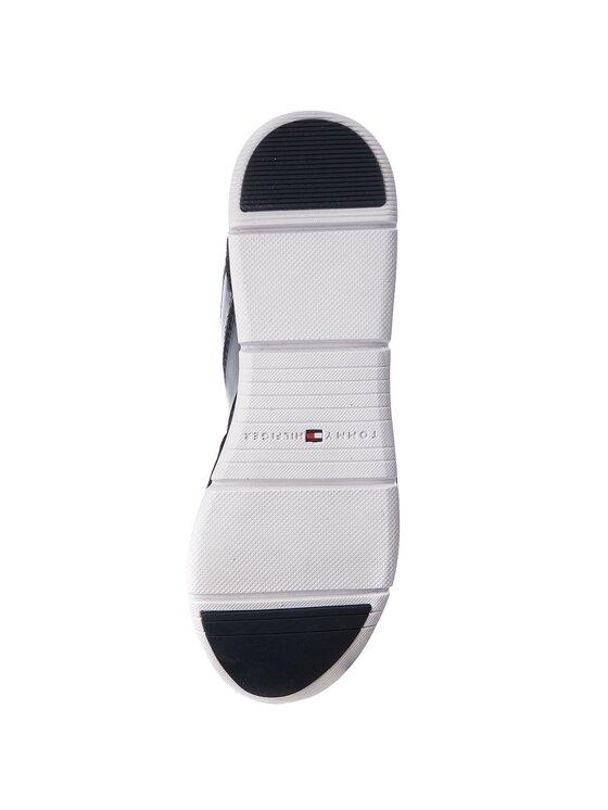 TOMMY HILFIGER TOMMY HILFIGER Сникърси Metallic Light Weight Sneaker FW0FW02996 Тъмносин
