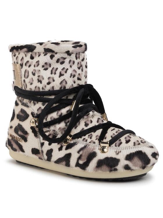 Moon Boot Sniego batai Dk Side Low Animal 24300600 Smėlio