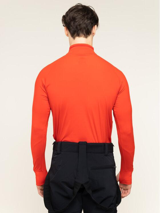 Descente Descente Bluză tehnică DWMOGB03 Roșu Regular Fit