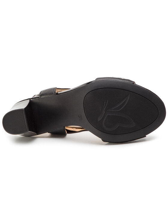 Caprice Caprice Sandały 9-28315-22 Czarny