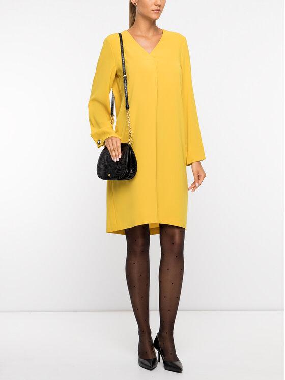 Laurèl Laurèl Коктейлна рокля 12022 Жълт Regular Fit