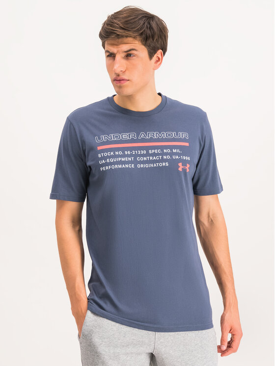 Under Armour Under Armour T-Shirt UA Issued 1344235 Szary Loose Fit