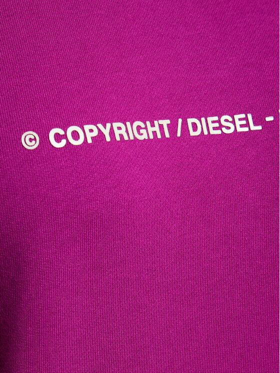 Diesel Diesel Μπλούζα F-Ang-Copy 00S77G 0IAJH Μωβ Regular Fit