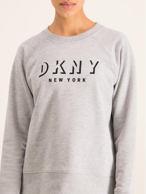 DKNY Sport DKNY Sport Bluza DP9T7096 Szary Regular Fit