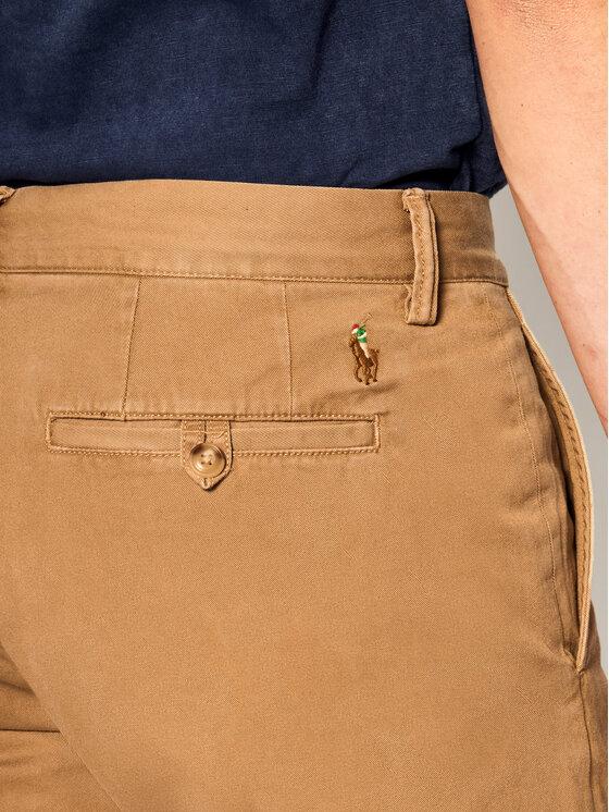 Polo Ralph Lauren Polo Ralph Lauren Текстилни панталони Bedford 710767328 Бежов Straight Fit