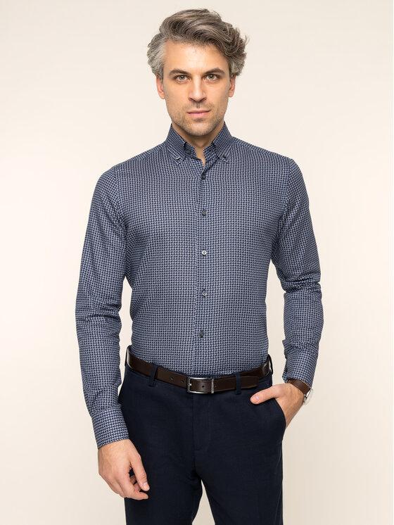 Emanuel Berg Emanuel Berg Marškiniai H-Basel PEB46588 Tamsiai mėlyna Modern Fit