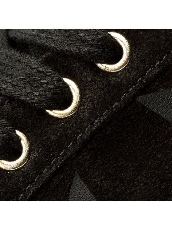Tommy Hilfiger Tommy Hilfiger Sneakersy Sabrina 1B1 FW0FW01855 Čierna