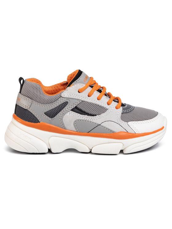 Geox Geox Sneakersy J Lunare B. A J02BYA 04314 C00036 M Szary