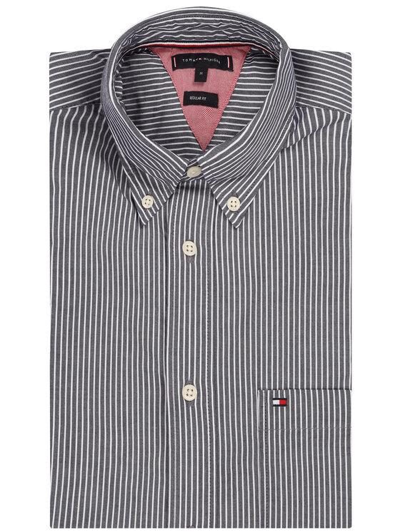 Tommy Hilfiger Tommy Hilfiger Košile Fine Stripe Shirt MW0MW12804 Tmavomodrá Regular Fit