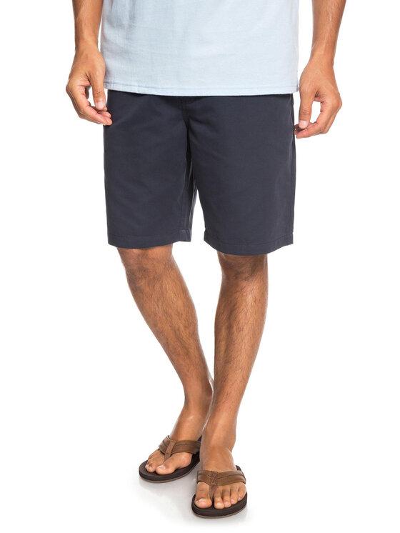 Quiksilver Quiksilver Short en tissu EQMWS03076 Bleu marine Regular Fit