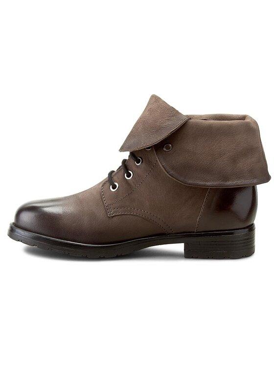 Clarks Clarks Členková obuv Minoa River 261205194 Sivá