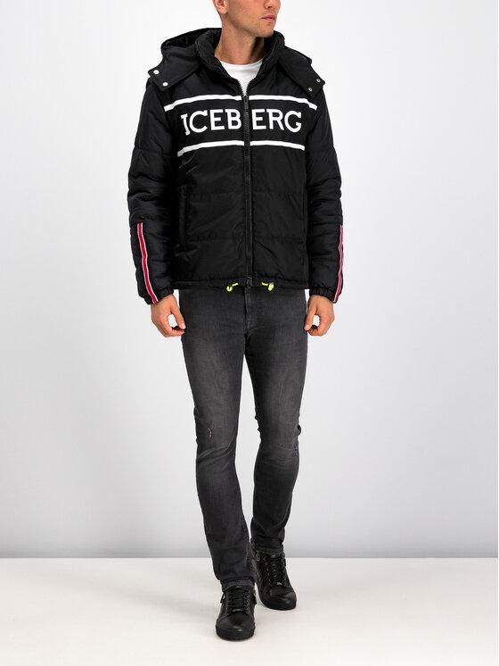 Iceberg Iceberg Veste d'hiver 19I1P000305347 Noir Regular Fit