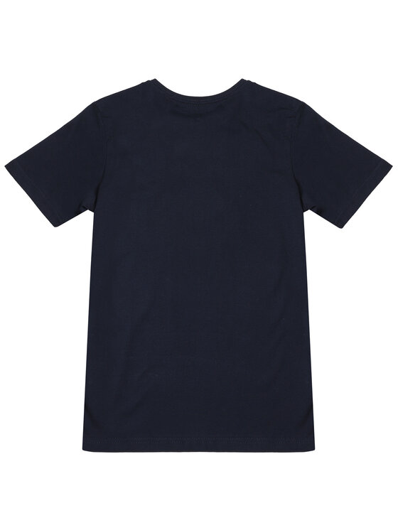 Quiksilver Quiksilver T-Shirt Words Remain EQBZT04142 Granatowy Regular Fit