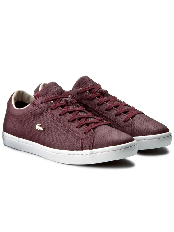 Lacoste Lacoste Sneakers Straightset 316 3 7-32CAW01461V9 Dunkelrot