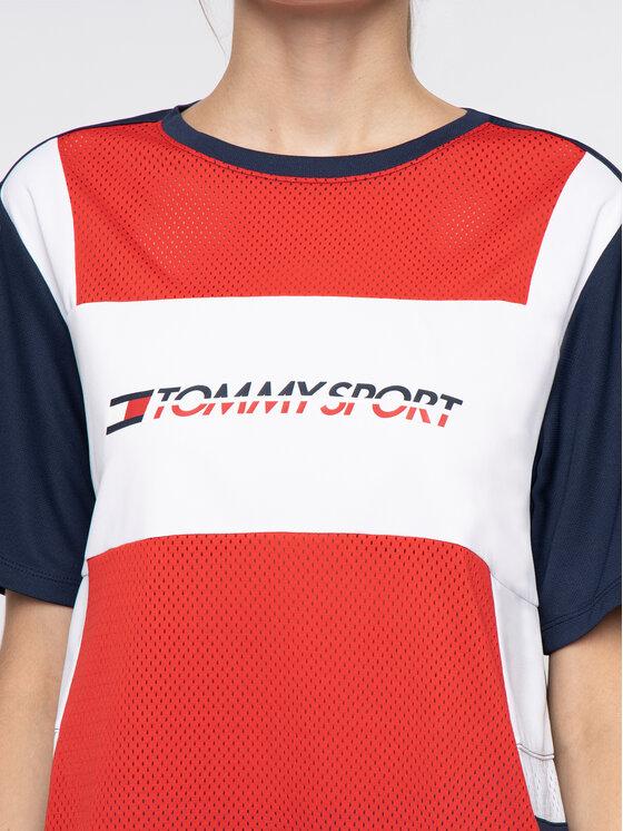 Tommy Sport Tommy Sport Tricou S10S100194 Colorat Regular Fit