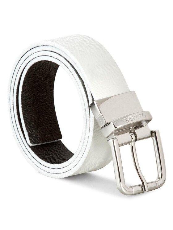 Calvin Klein Calvin Klein Cintura da donna Sofie Reversible K60K601077 80 Bianco