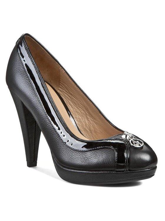 Armani Jeans Armani Jeans Обувки на ток Z5582 42 12 Черен